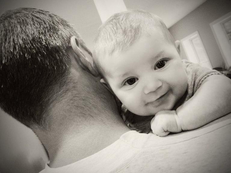 tata sa bebom