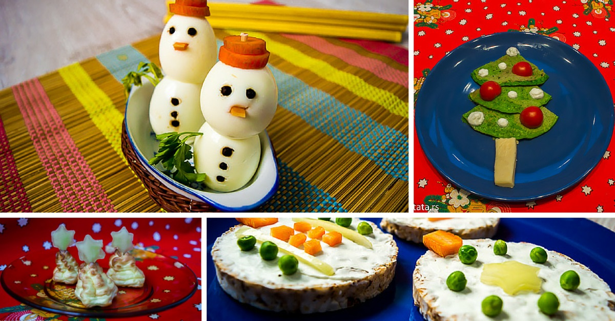novogodišnja hrana za decu