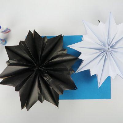 3D papirne zvezde